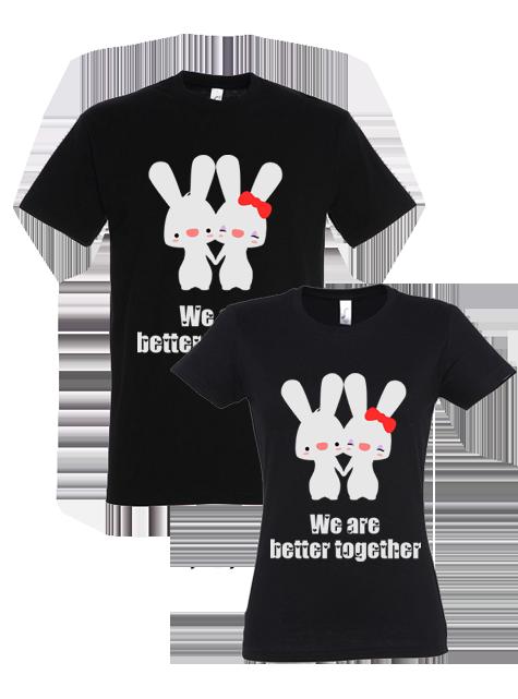 Cele mai deosebite cadouri de la Tricoul Ideal: tricouri personalizate cupluri cu poză